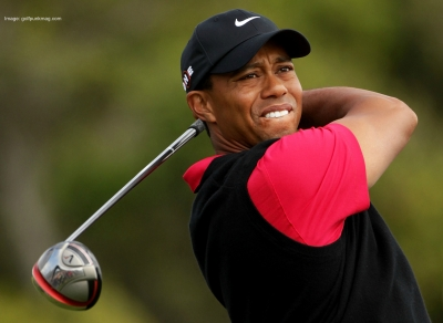Golf phenom, Tiger Woods