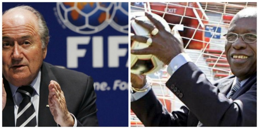 In The Dog House: FIFA President Sepp Blatter and Former Trinidadian Politico Jack Warner