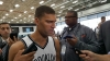 Brooklyn Nets center Brook Lopez at 2016 Brooklyn Nets Media Day
