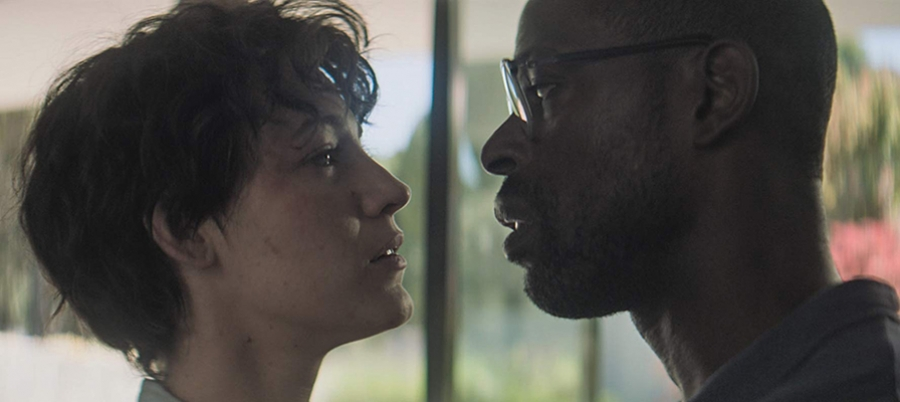 Blake Lively (left) and Sterling K. Brown, actors in the spy-thriller movie, The Rhythm Section.