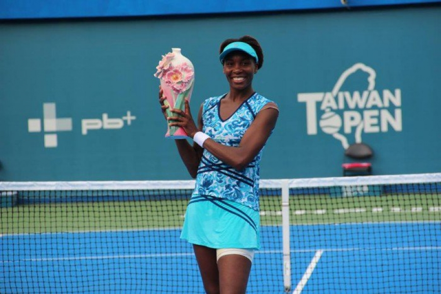 Venus Williams' Valentine's Gift is a Win at the Taiwan Open
